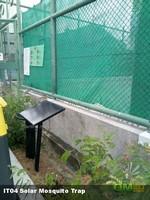 太陽能滅蚊機吸入式捕蚊系統