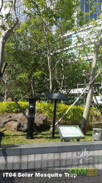 智慧城市御用太陽能滅蚊燈,最好用,最強滅蚊燈,滅蚊神器