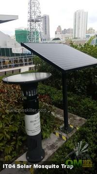 太陽能滅蚊機IT04,環保滅蚊,驅蚊方法,滅蚊燈,戶外滅蚊機